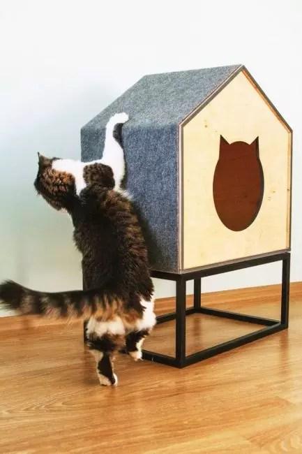 Quando o suporte é substituído por uma casa
