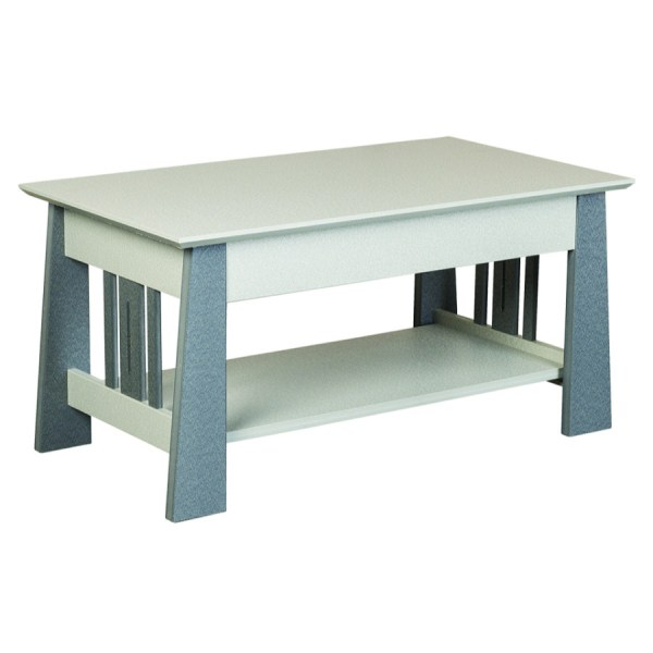 Mission Coffee Table with Slats