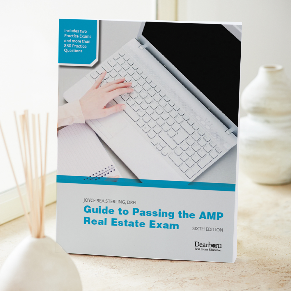 Guide to Passing the AMP Real Estate Exam, 6th Edition – Modern Real