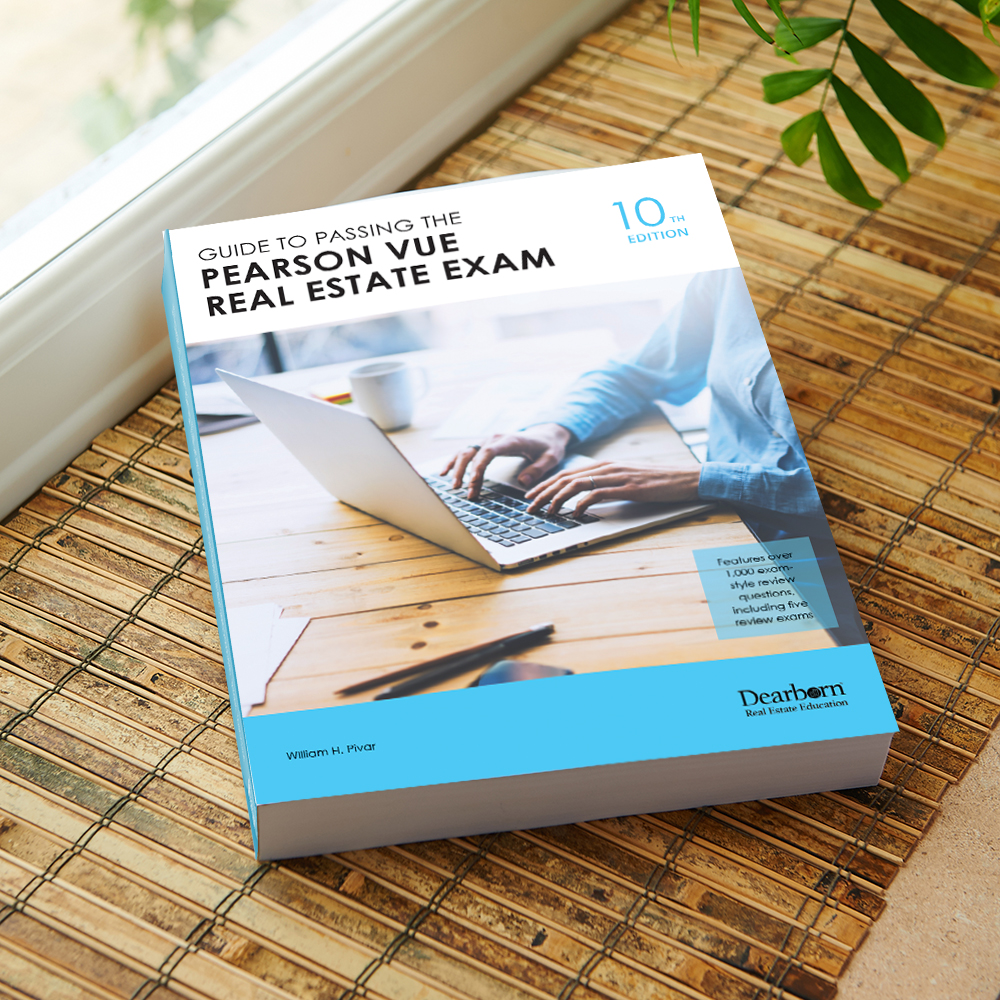 Guide To Passing The Pearson Vue Real Estate Exam 10th Edition Modern Real Estate Practice