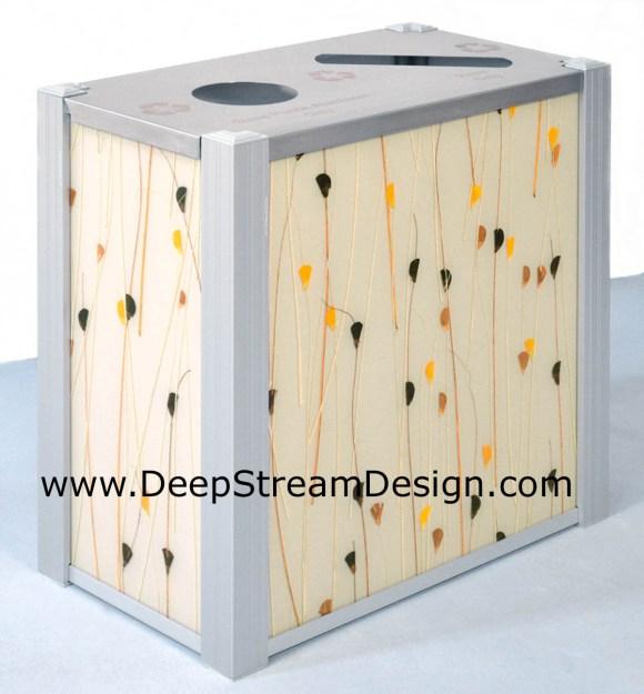 DeepStream 3form Harvest modern Double Recycle Bin