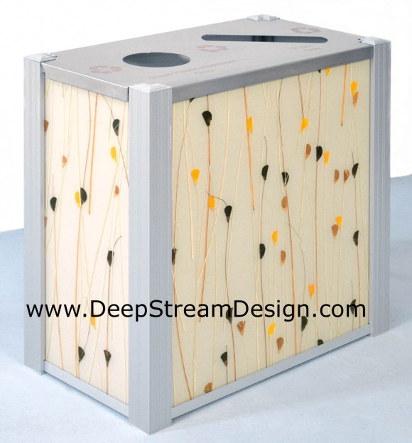 DeepStream 3form Harvest modern Double Recycle Bin