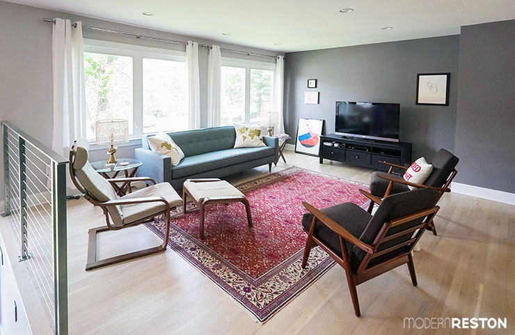 Home Tour A Cramped Split Level Transforms With Spacious