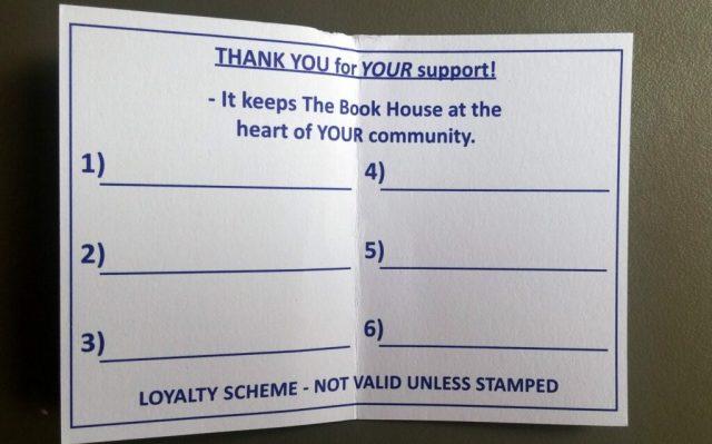 Bookshop Loyalty