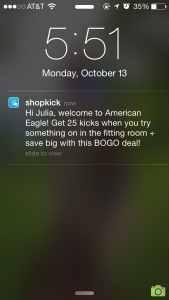 Shopkick Loyalty