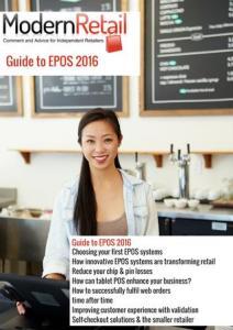 Retail Ebooks - Modern Retail Guide to EPOS 2016