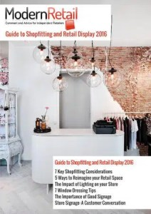 Retail Ebooks - Modern Retail Guide to Shopfitting and Retail Display 2016