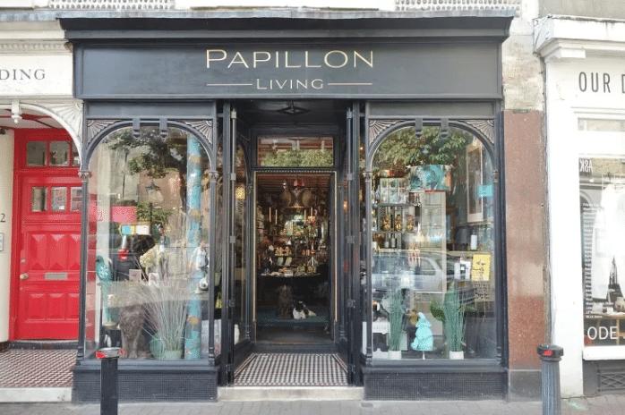 Papillon Living store showcase