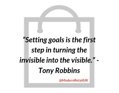 Setting goals quote