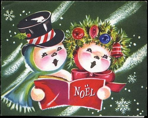 1950s Christmas Card