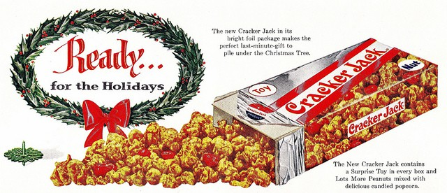 Cracker Jack advertisement