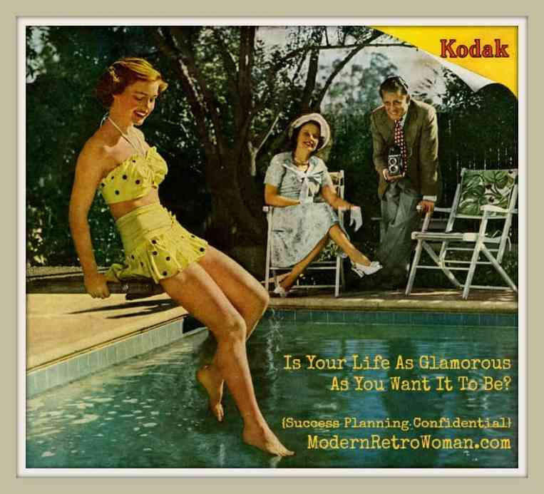 It's Always Summer in Snapshots, Kodak Advertisement, 1949. Source image courtesy of Paul Malon on Flickr.com