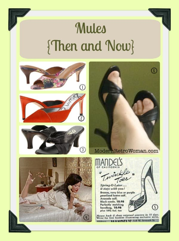 Mules Then and Now ModernRetroWomancom