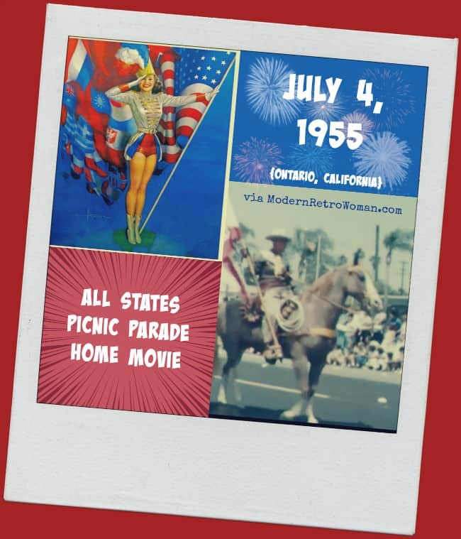 All States Picnic Parade 1955 Home Movie ModernRetroWoman.com