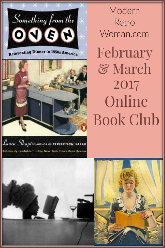 Something From the Oven (Online Book Club) ModernRetroWoman.com
