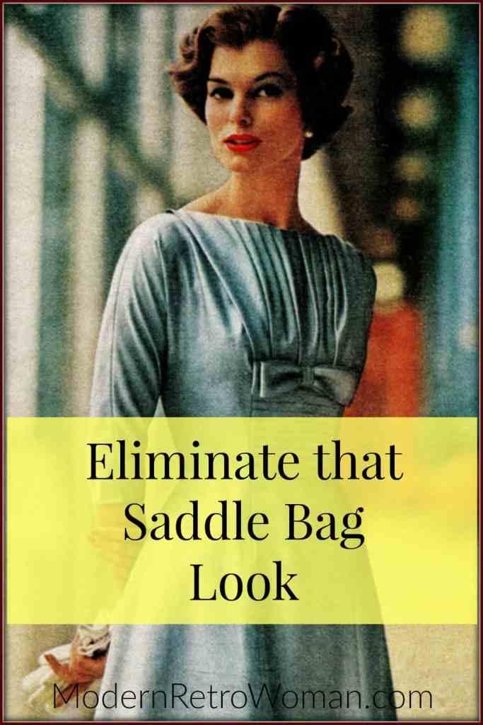 Eliminate that Saddle Bag Look ModernRetroWoman.com Pin