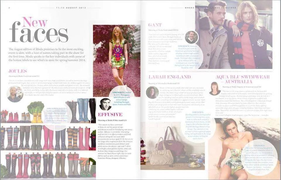 Effusive in Moda Fashion Exhibitions