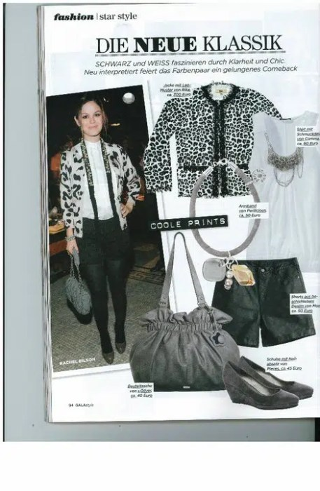 Perilicious in Gala Style Magazine
