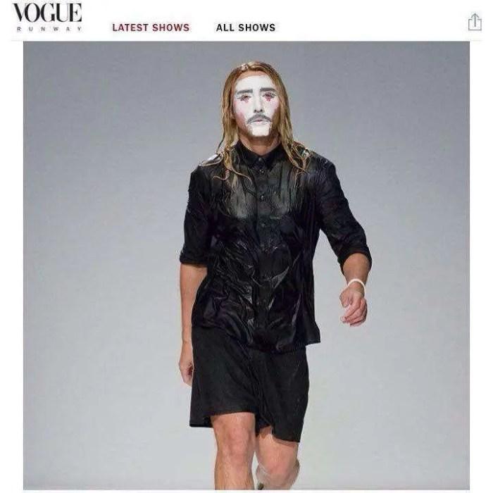 THEO in Vogue Runway