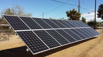 Ground Mount Solar Installation