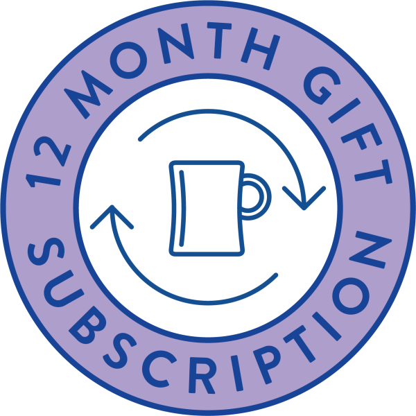 12 month gift subscription modern standard coffee