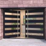Glass Panel Double Doors Exterior Doors With Glass