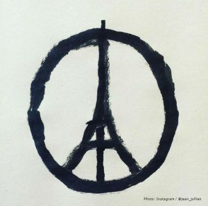 This symbol went viral as people across the world showed their solidarity for the Paris attacks. What is the Stoic approach?