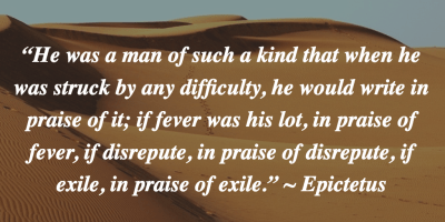 Main Epictetus Quote