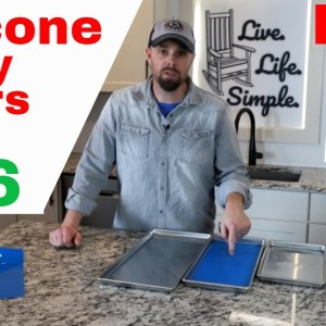 How To Make Silicone Tray Liners For $16 // HARVESTRIGHT FREEZE DRYER silicone mat