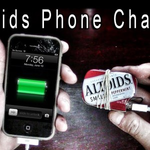 Altoids Mini DIY Phone Charger for Your Survival Kit or Bugout Bag