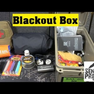 Black- Out Box for Power Outages