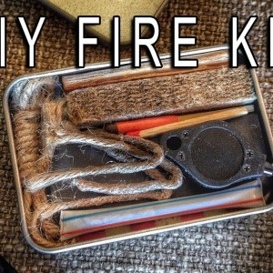 DIY Fire Kit for Your Bugout Bag or Survival Kit