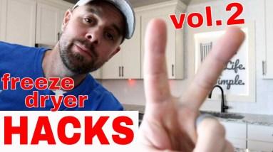 HARVESTRIGHT Freeze Dryer Hacks Volume 2// Tray stackers, Teflon liners, Kill-a-watt Meter