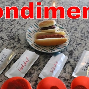 Freeze Dried Condiments -- Ketchup, Mustard, Sriracha, BBQ Sauce & Relish