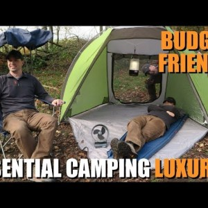 Top 5 Essential AFFORDABLE Camping Luxuries | Budget-Friendly Outdoor Gear