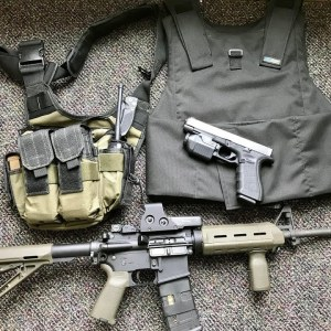 Prepper's Home Defense Setup (Rapid Deployment Pack)
