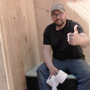 Building an Off Grid Outhouse .........start to finish