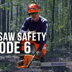Chainsaw Safety | Basic Operation | Episode 6 | Forest to Farm
