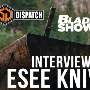 Randall's Adventure/Esee Knives at Blade Show 40