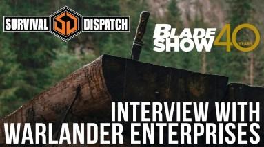 Warlander Enterprises at Blade Show 40