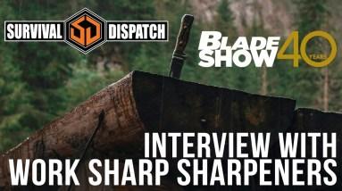 Work Sharp Knife Sharpeners at Blade Show 40