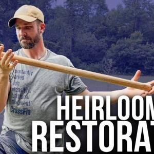 Refitting a Heirloom Splitting Axe | ON Three