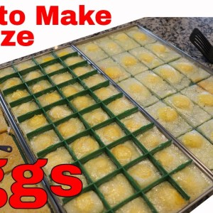 Freeze Dried Eggs-- Fried eggs, Scrambled Eggs, Hard Boiled Eggs