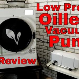 Freeze Dryer Low Profile Oil Less Vacuum Pump Review