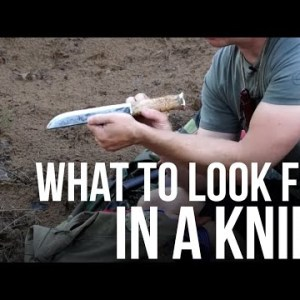 What to Look For in a Knife | TJack Survival