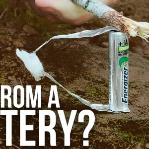Fire Starting with a Battery | ON Three