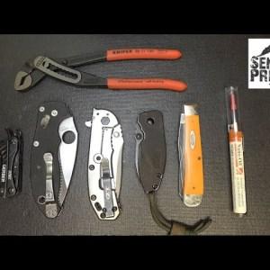 The Best Knife & Multi-Tool Lubrication:  Nano Oil