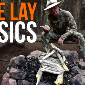 The Easy Way to do a Fire Lay | TJack Survival