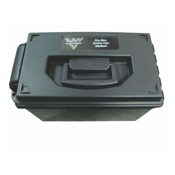 RAM DRY BOX / AMMO CAN BLACK 37X21X23.5cm