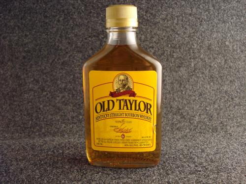 Old taylor 80 bottle